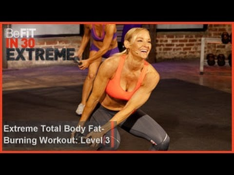 Extreme Total Body Fat Burning Workout | Level 3- BeFit in 30 Extreme