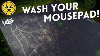 Cleaning my 5 Yęar Old Mousepad