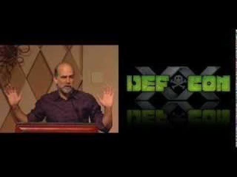 DEFCON 20: Bruce Schneier QvesvesA