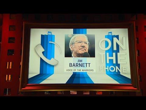 Comcast SportsNet Bay Area Warriors Analyst Jim Barnett Talks NBA Finals - 6/10/16