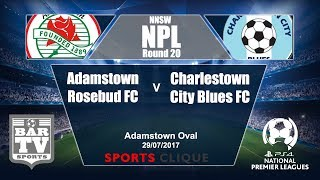 Adamstown Rosebud FC vs Charlestown City Blues full match