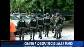 RANGO CONSTITUCIONAL A LA POLICÍA MILITAR