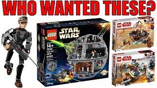 Top 10 LEGO Star Wars Sets NO ONE WANTED!