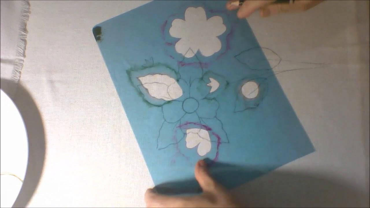 Faca Facil Seus Desenhos Para Panos De Prato Parte I Por Maria Da