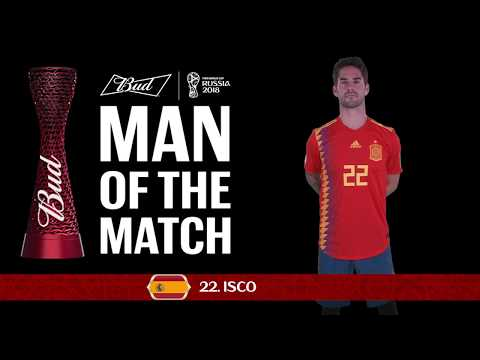 ISCO (Spain) - Man of the Match - MATCH 36