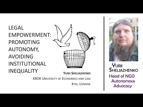 Legal Empowerment: Promoting Autonomy, Avoiding Institutional Inequality