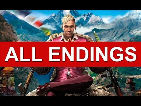 Far Cry 4 Ending - All Endings (Good Ending / Bad Ending / Alternate Ending / Secret Ending)
