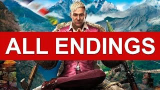 Far Cry 4 Ending - All Endings (Good Ending / Bad Ending / Alternate Ending / Secret Ending)