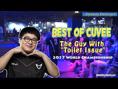 "Best Of CuVee, The Guy With ""Toilet Issue"" - 2017 World Championship"