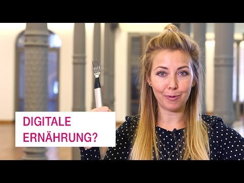 Social Media Post: Wird unser Essen digital? - Netzgeschichten