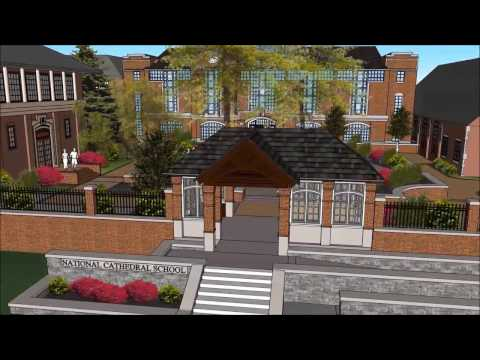 National Cathedral School Virtual Model