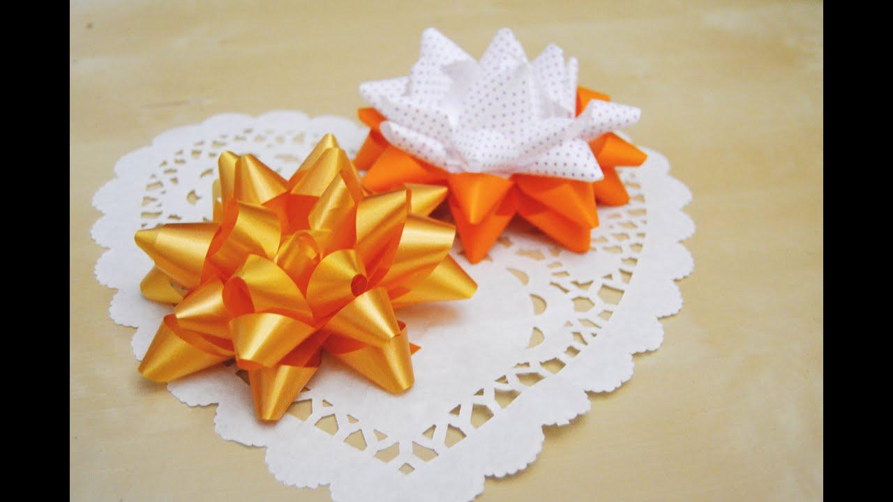 Lazos o mo os f ciles para decorar regalos