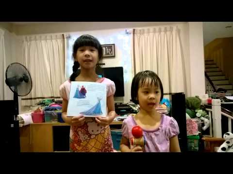 Frozen Let It Go by the 2 young snow queens (Tanya & Aya)
