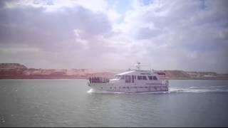 مشهد عام لقناة السويس الجديدة 5أبريل 2015