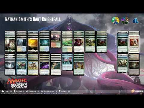 GP Dallas, Round 14: Corey Burkhart (Grixis Control) vs. Nathan Smith (Bant Knightfall)
