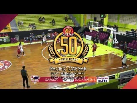 [Pro Baskeball 50th Pacific Caesar] Garuda Bdg VS Blackwater Elite Phillipines