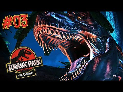 T-REX VS TRICERATOPS | Jurassic Park: The Game (Let's Play Part 3)