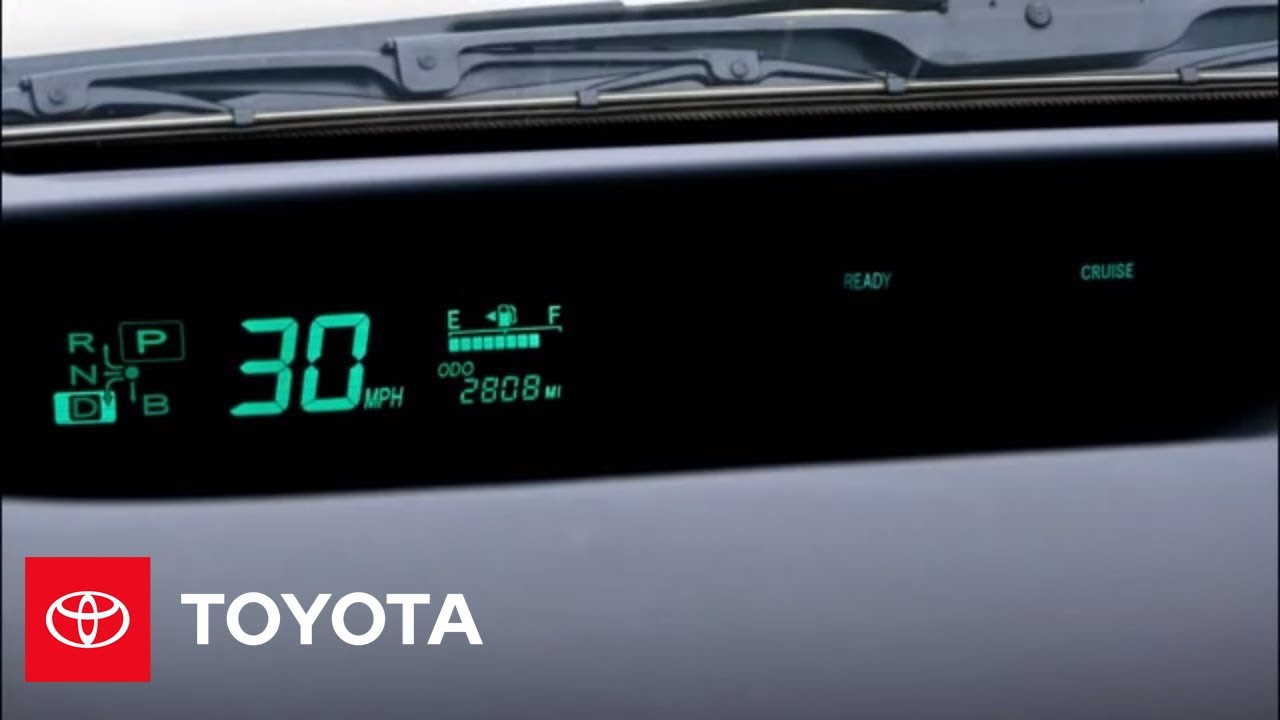 2009 Prius How To Cruise Control Toyota