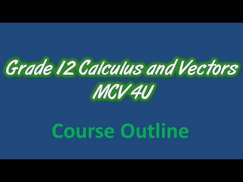 calculus and vectors how to get an a+