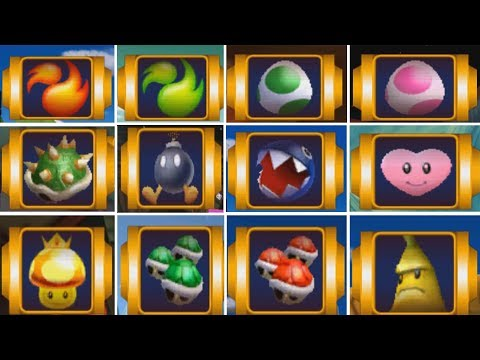 Mario Kart: Double Dash - All Special Items