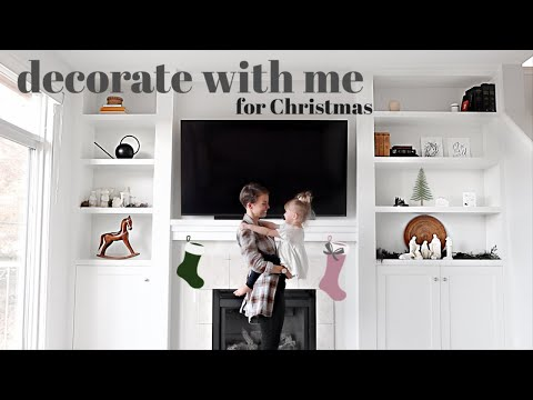 Decorating My ENTIRE House For Christmas | Cheap & Minimal
