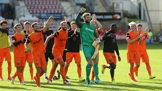 Cammy Bell Unique Hat-trick Three Penalty #Saves v Dunfermline 10.09.2016 thumbnail