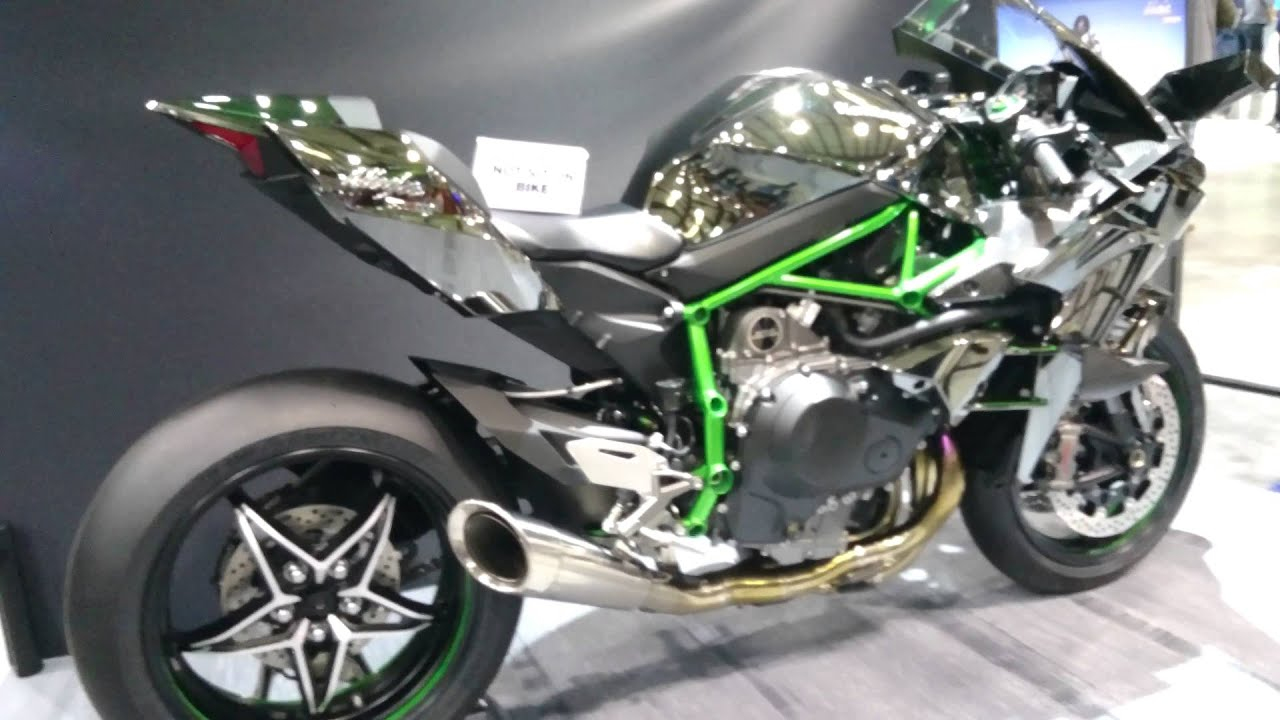 4k 2015 Kawasaki Ninja H2R In Ultra HD