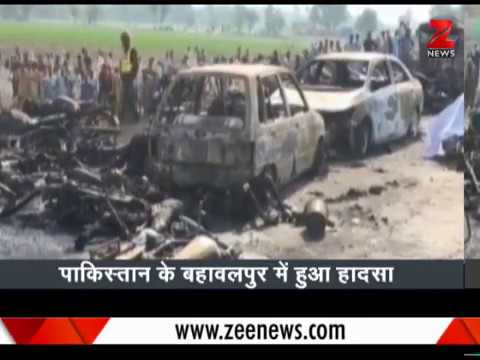 148 dead in Pakistan oil tanker fire | पाकिस्तान में तेल का लालच पड़ा महंगा