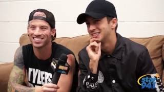 21 Questions with Twenty One Pilots
