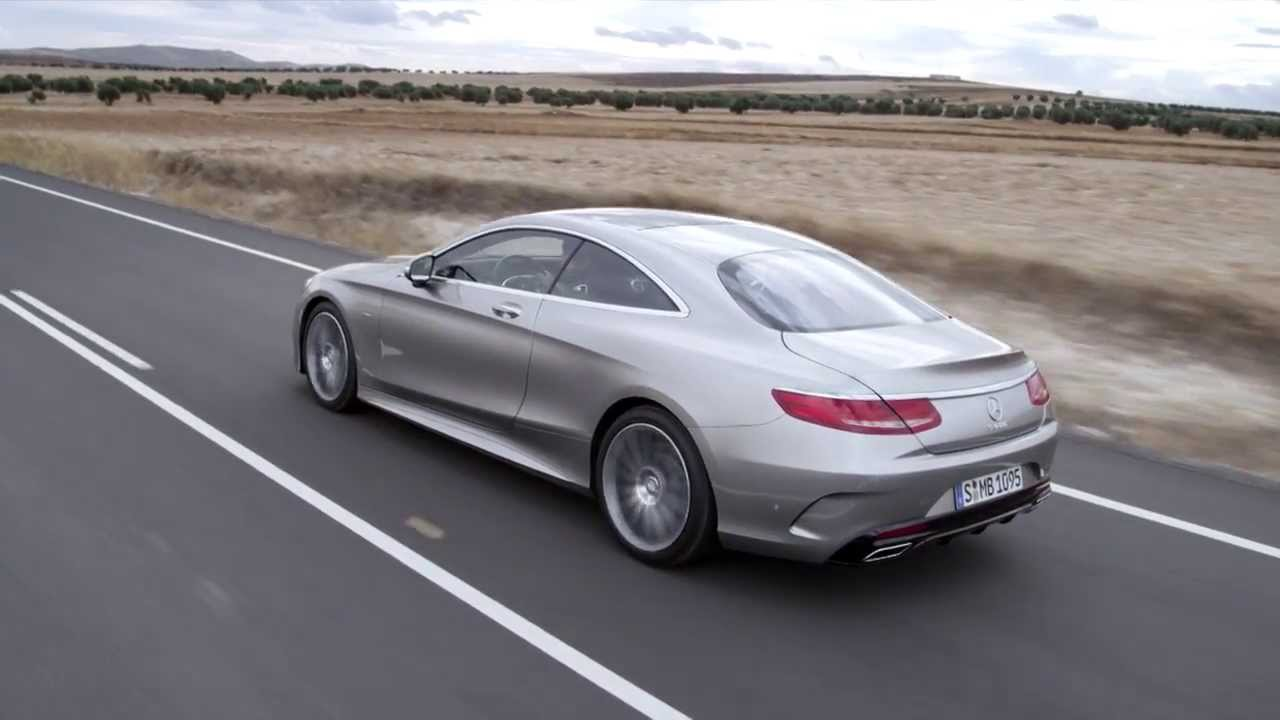 2014 mercedes s 500 4matic coup driving footage youtube for Mercedes benz c 500
