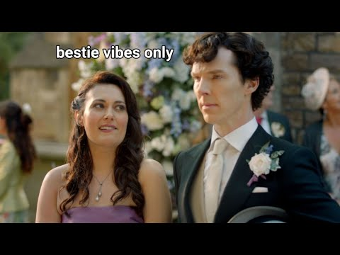 Download Janine and Sherlock giving me bestie vibes only for 5 minutes