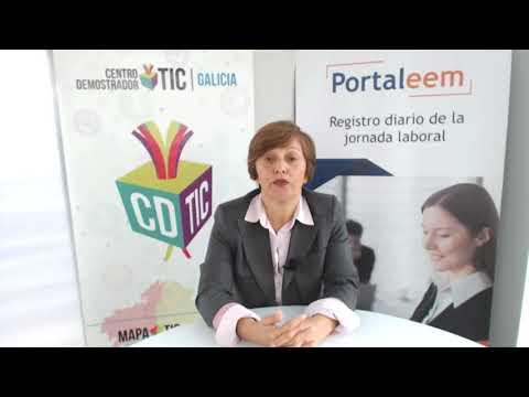#DemosXweb: Control do rexistro horario dos empregados en Portaleem