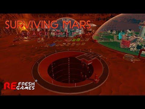 Богатство из центра планеты - Surviving Mars: Space Race DLC #8 (505% сложность, Япония)