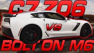 C7 Z06 vs Bolt on BMW M6
