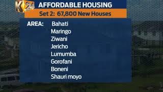 Pres. Kenyatta receives housing implementation plan