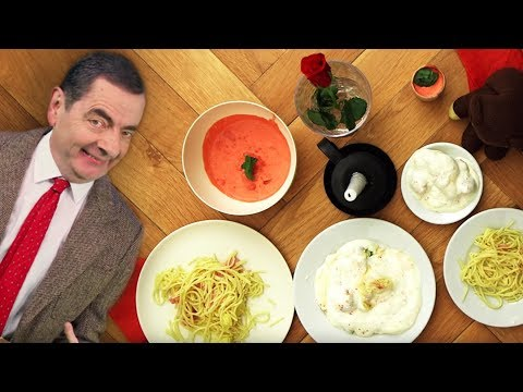 DINNER DATE Bean ❤️ | Valentine's Handy Bean | Mr Bean Official