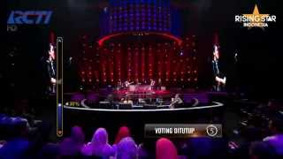"""Gzella """"Mulder And Scully"""" Catatonia - Rising Star Indonesia Live Duels 3 Eps 11"""