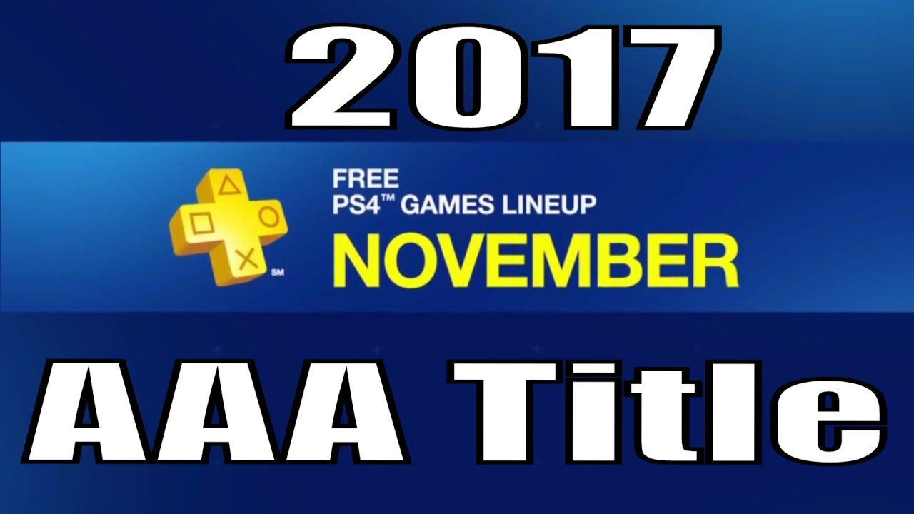 how to get free ps4 games november 2017