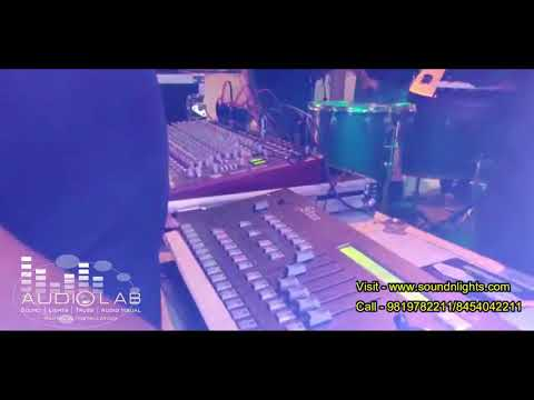 Audio Lab Sound Lights Truss Rental Company -Running Show Setup