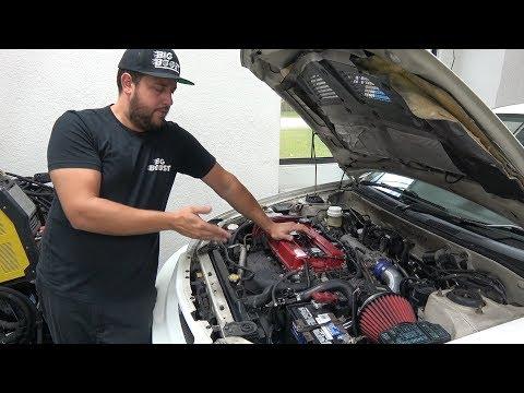 Adam's new EVO 5 engine gets reinforced!