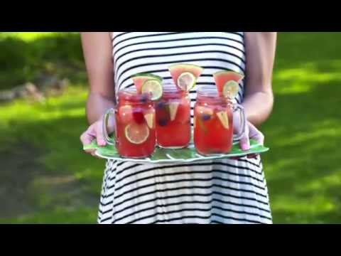 Katie Sommers - TRENDING: Watermelon Mimosas AND Sangria