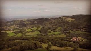 Les Monts du Lyonnais vus du ciel en 2,15'