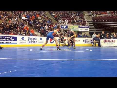 PIAA Individual Wrestling Championships Day 1 Highlights - Class 2A - Dauer: 2 Minuten, 56 Sekunden