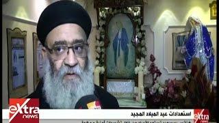 كنائس بورسعيد تستعد لأعياد الميلاد وسط تشديدات أمنية.. «فيديو»