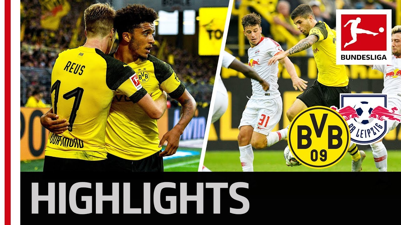 Download Borussia Dortmund vs. RB Leipzig | 4-1 | Highlights 2018