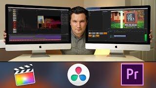 2017 vs 2015 5K iMac Video Editing! FCX Premiere & Resolve 14 - 2015 vs 2017 iMac