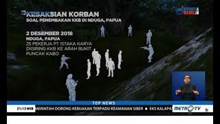 Kesaksian Korban Selamat Aksi KKB Papua