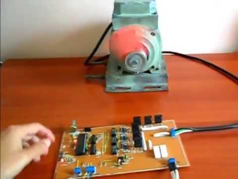 Circuito Variador De Frecuencia : Variador frecuencia control velocidad trifasico pic estudiante youtube