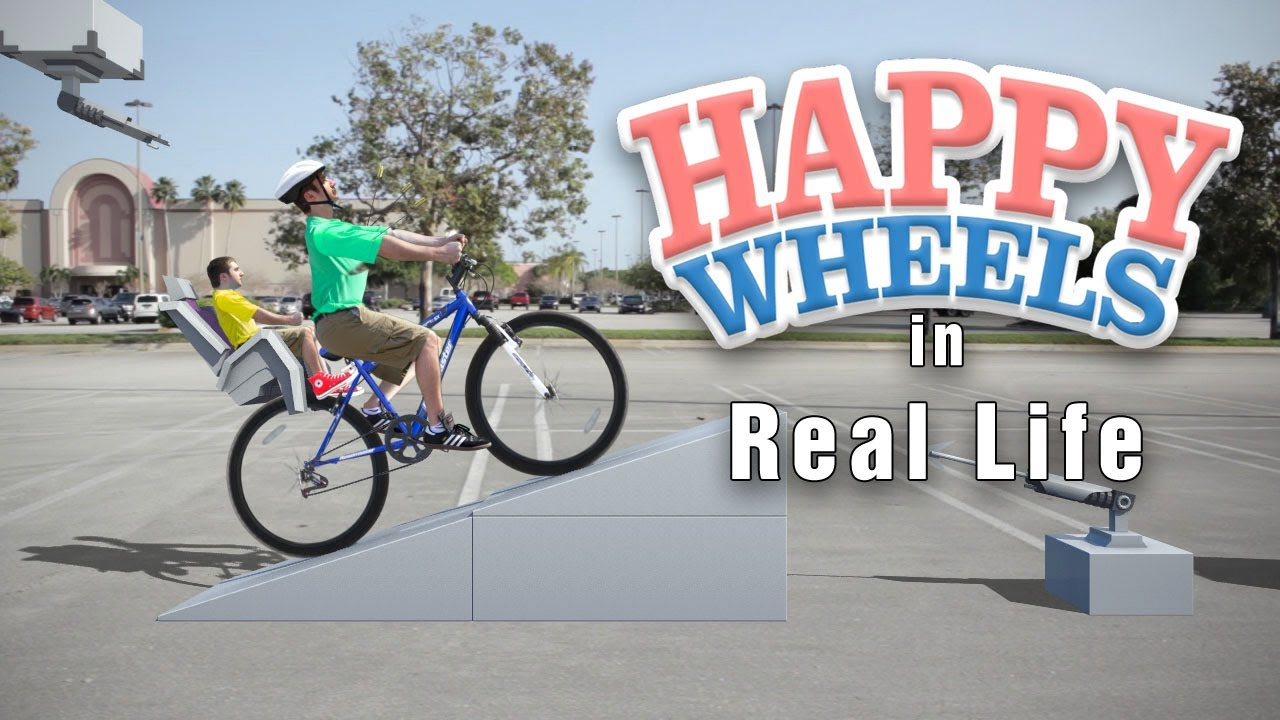 Live Action HAPPY WHEELS | Irresponsible Dad in Real Life - YouTube