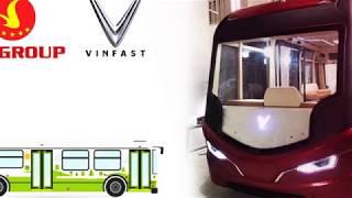 Xe buýt VinFast 2019 nội thất hiện đại như phim viễn tưởng
